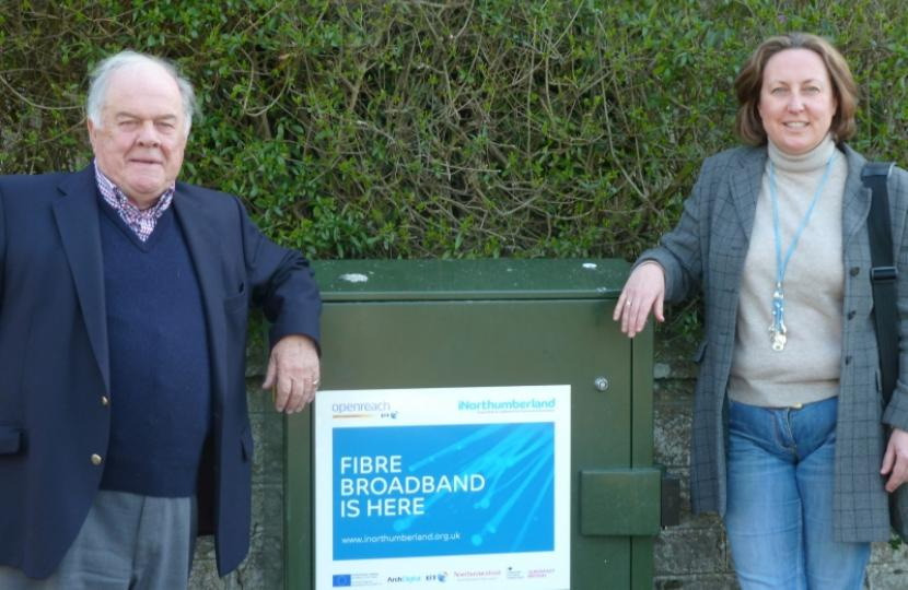 MP welcomes new superfast broadband roll out