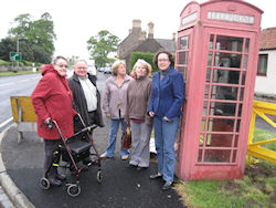 Anne-Marie's campaign saves the telephone box at Cornhill